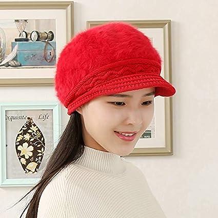 3081fd1f3bf5d Casquillo de los sombreros de moda Moda gorra de béisbol de manga corta  gorro de punto
