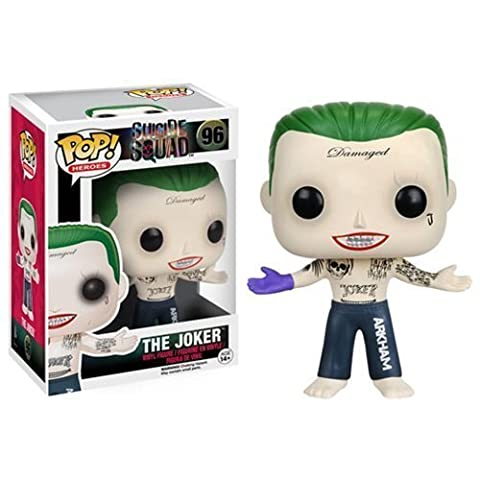 Suicide Squad - Joker Shirtless POP Figure Toy 3 x 4in (Atlantic Game Central Tall)