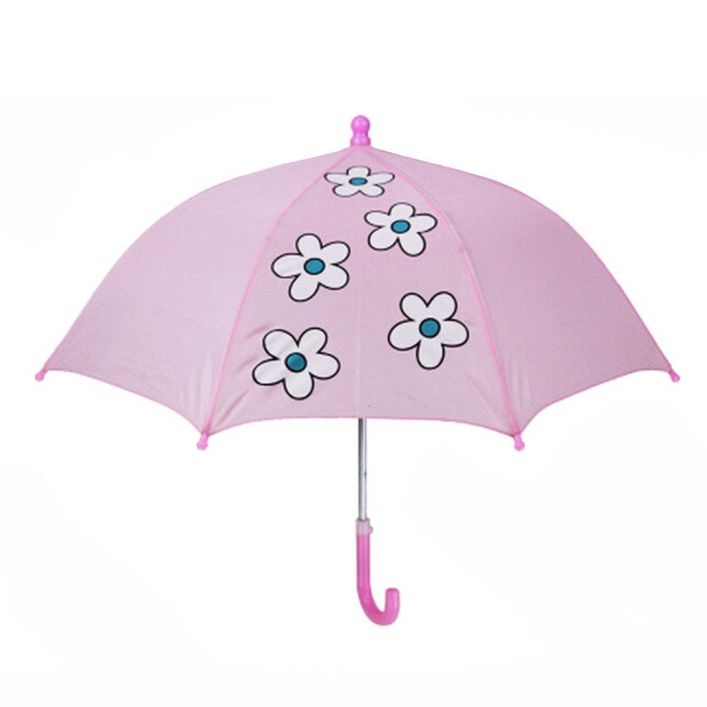 Enfants Umbrella - Childrens Rainy Day 22inch Umbrella - fleur Blancho Bedding
