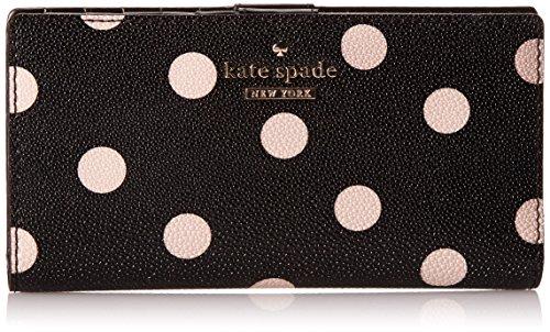 Kate Spade New York Cedar Street Dot Stacy Clutch Black/Deco Beige One Size