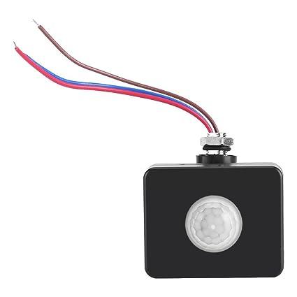 Sensor de movimiento al aire libre Detector de cuerpo humano infrarrojos PIR pared pavimento Interruptor Sistema