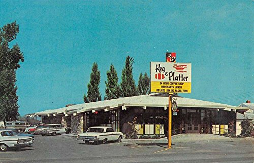 Salem Oregon Keg And Platter Inc Street View Vintage Postcard K57484