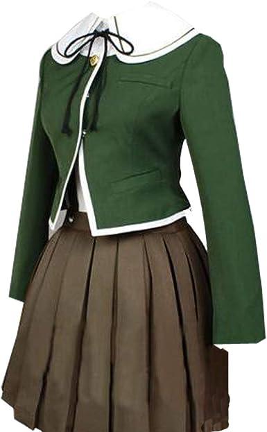 Amazon.com: Harry Shops Dangan Ronpa Chihiro Fujisaki Cosplay Costume: Clothing