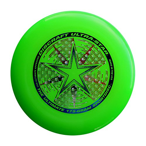 Discraft 175 Gram Ultra Star Sport Disc, Green by Discraft