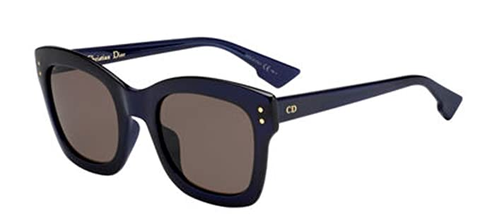 763b5289af New Christian Dior Diorizon 2 S PJP 70 Blue Brown Sunglasses  Amazon.co.uk   Clothing