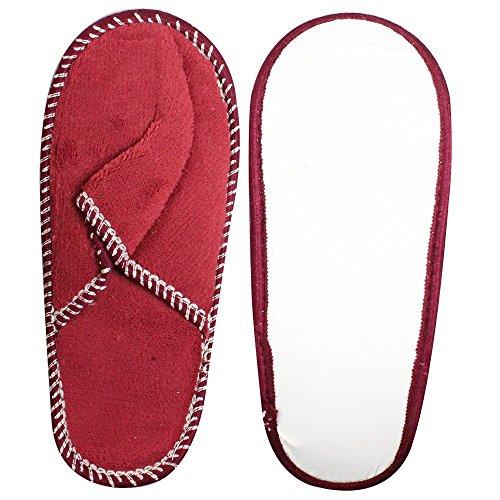 COM de Four® Pantuflas para invitados Juego de 5piezas, zapatillas casa para invitados, tamaño: 36–