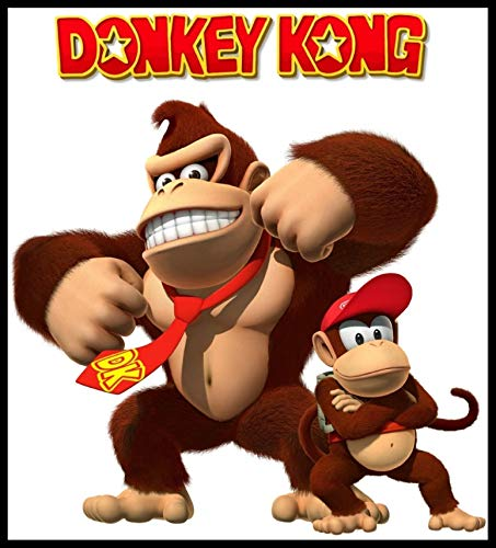 Donkey Kong Country - For Dark-Colored Materials - Iron On Heat Transfer 8