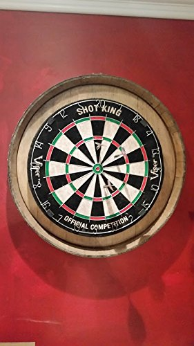 Wine Barrel Dart Board by Wine Enthusiast