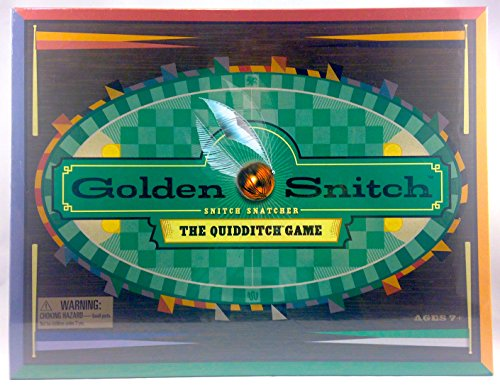 Wizarding World of Harry Potter : Golden Snitch The Quidditch Board Game (Harry Potter Broomstick Games)