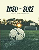2020-2022 Three 3 Year Planner Soccer Monthly Calendar Gratitude Agenda Schedule Organizer: 36 Months Calendar; Appointment Diary Journal With Address ... Notes, Julian Dates & Inspirational Quotes