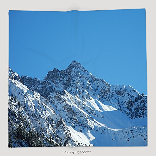 [Custom Mountains In Bavaria Germany The Alps In Europe 570125215 Soft Fleece Throw Blanket] (Customs Of Halloween In Germany)