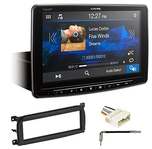 Alpine Digital Media Bluetooth Receiver w/CarPlay for 03-06 Jeep Wrangler TJ