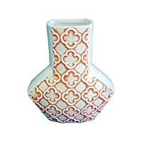 Turtle King Wall Vase, Orange