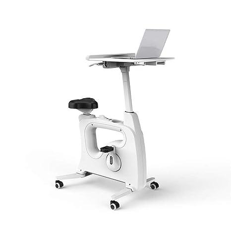 Mesa de ejercicios Bicicleta de oficina en casa Altura ajustable ...