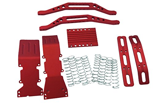 (T-Maxx, red anodized package super deal includes a free set of silver dual rate springs)