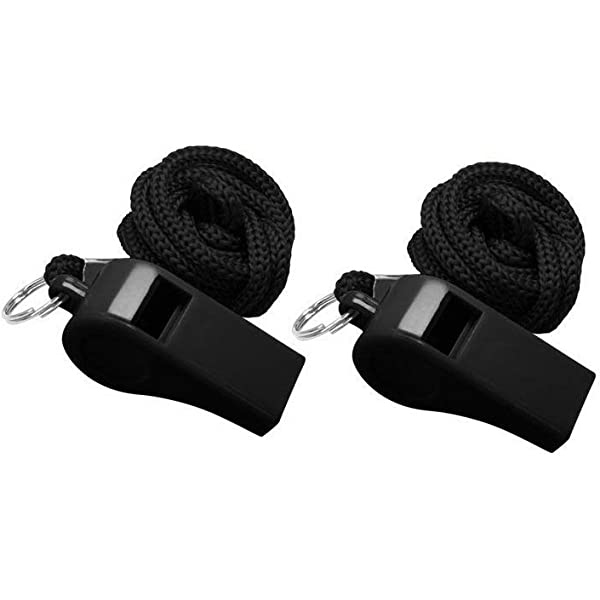 Fox 40 Classic Whistle, Unisex-Adult, MSWHIFOX, Black, One