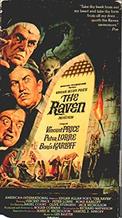Boris Karloff Vincent Price Jack Nicholson movie poster print The Raven 1963