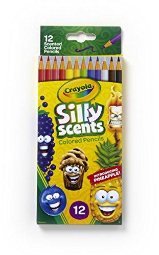 Crayola Silly Scent Pencils, Multicolor