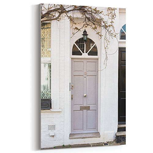 Westlake Art Canvas Print Wall Art - Door Home on Canvas Stretched Gallery Wrap - Modern Picture Photography Artwork - Ready to Hang - 12x18in7x-1a8-8a7