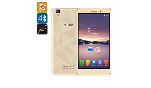 Bluboo Maya Smartphone - Android 6.0, 5.5 pulgadas HD pantalla, IMEI 2, Quad-Core CPU, tras inteligente, Sensor de gravedad (or: Amazon.es: Electrónica