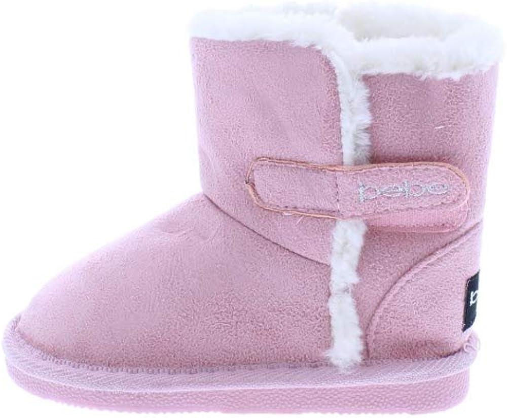 Faux Fur Cuffs Slip-On Winter Shoes