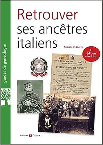 Amazon Fr Retrouver Ses Ancetres Italiens Nathalie