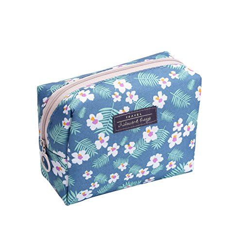 HOYOFO Travel Makeup Pouch Small Cosmetic Bag Portable Make