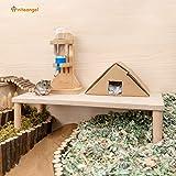 Niteangel Hamster Play Wooden Platform for