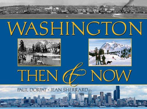 Washington Then & Now (Then & Now (Westcliffe))