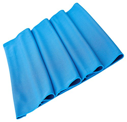 He Cheng Cooling Towel for Sports, Cool Bowling Fitness Yoga Towels, Soft Ice Cold Towel for Men, Running, Hiking, Golf, Yoga, Gym 51uDLR6J3tL
