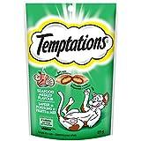 Temptations Classic Cat Treats Seafood Medley Flavor, (12) 3 Oz. Pouches