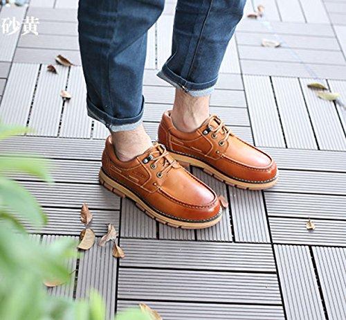 OEMPD Chaussures de Sport Pour Hommes Chaussures Martin Chaussures Habillées Yellowb 23qzIKh