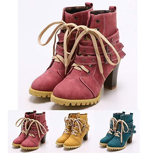 Natale Short Donna Ginnastica Sportive Vendita Antiscivolo Outdoor Invernale Calda Corsa Oyedens Scarpe Da Blu Stivali Boots Ankle Sneakers vAqwx1EO