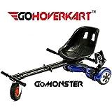 GO Hoverkart Monster–Noir de carbone