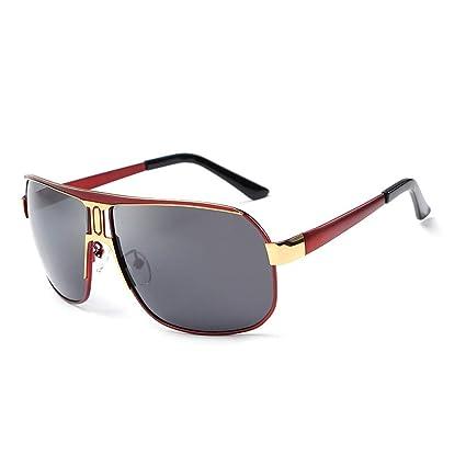 Gafas Sol para Hombre Sol de Moda Pesca al Aire Libre (Color ...