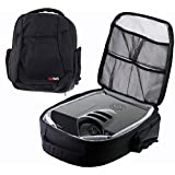 Navitech Rugged Black Backpack / Rucksack / Carry Case For The Epson EX9200 Pro WUXGA 3LCD Projector