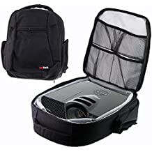 Navitech Protective Portable Projector Carrying Case and Travel Bag for the Navitech Protective Portable Projector Carrying Case and Travel Bag for the LEFun Home Cinema Projector
