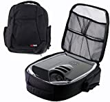 Navitech Protective Portable Projector Carrying Case and Travel Bag for the Acer Predator Z650