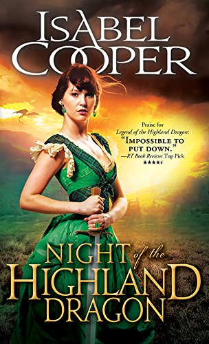 book cover of Night of the Highland Dragon