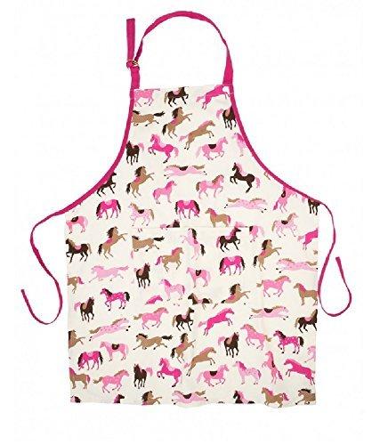 Hatley Towels Aprons Hearts Horses