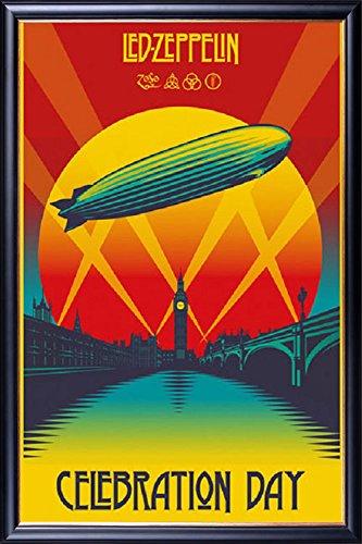 FRAMED Ahmet Ertegun Tribute Concert - Led Zeppelin 24x36 Po