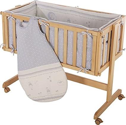Cuna de colecho roba Room & Craddle, ajustable a la cama de los