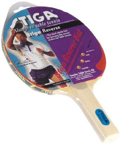 Stiga Stiga Reverse Table Tennis Bat - Red by Stiga by Stiga