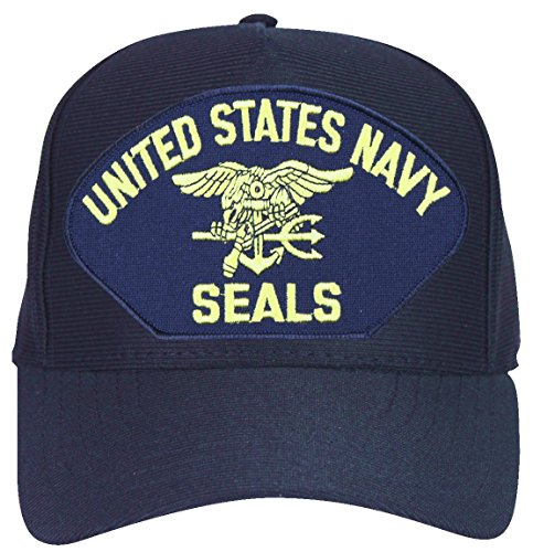 United States Navy Seals with Trident Ball (State Seal Ball Cap)
