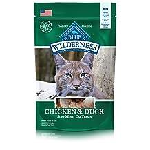 Blue Buffalo Chicken & Duck Cat Treats, 2 oz Bag