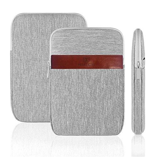 Waterproof Canvas Fabric Tablet Sleeve