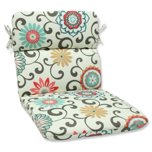 Pillow Perfect Outdoor Peachtini Rounded