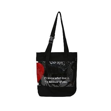 043244536e95 Chic Cotton Canvas Tote Bag Purse Shoulder Bags Bookbag Letters ...