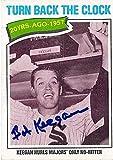Autograph Warehouse 345168 Bob Keegan Signed Baseball Card - Chicago White Sox 1977 Topps No. 436 Turn Back the Clock No Hitter