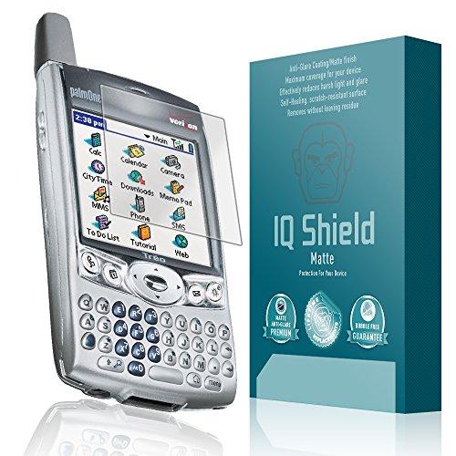 IQ Shield Matte Full Coverage Anti-Glare Screen Protector for Palm Treo (600,650,680,700,750) Anti-Bubble Film